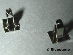 12x Clips Presentoir Pour Piercing Materiel De Presentation De Bijoux Piercing