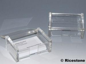 9b Boite Acrylique 105 X 72 43 Carte De Visite