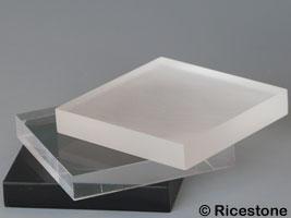 socle plexiglas support pr sentoir plaque acrylique pour collection 6x6x1cm cu61. Black Bedroom Furniture Sets. Home Design Ideas