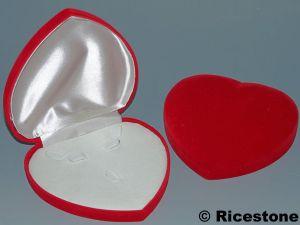 Coffret bo te cadeau pour parure boucles d 39 oreille bague - Boite coffret cadeau vide ...