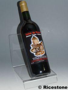 Porte bouteille support pr sentoir de table pour bouteille sup boute - Porte bouteille de table ...