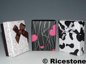 boites crins cadeau pour bague et boucle d 39 oreille ou cha nette bi79y. Black Bedroom Furniture Sets. Home Design Ideas