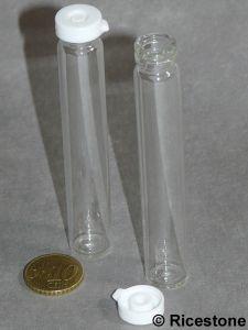 bouteille haute de contenance 10 cc en verre avec bouchon plastique pour sable orpaillage b3. Black Bedroom Furniture Sets. Home Design Ideas