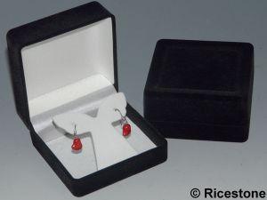coffret cadeau boucle d 39 oreille crin de pr sentation de bijoux bbo. Black Bedroom Furniture Sets. Home Design Ideas