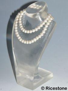pr sentoir buste porte bijoux en acrylique transparent pour colliers bustacr1. Black Bedroom Furniture Sets. Home Design Ideas