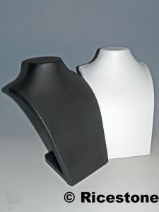 buste thermo form pr sentoir porte bijoux synth tique pour colliers. Black Bedroom Furniture Sets. Home Design Ideas