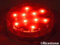 support lumineux Led rouge