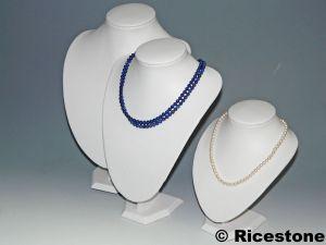 Pr sentoir bijoux buste vente de bustes de pr sentation pour bijoutier professionnel - Presentoir bijoux pas cher ...