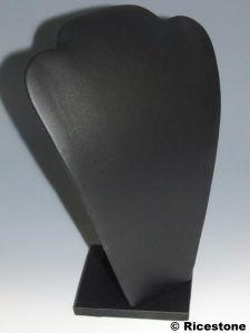 buste plat pour collier similicuir conomique gainerie pas cher pour pr sentation de bijoux. Black Bedroom Furniture Sets. Home Design Ideas