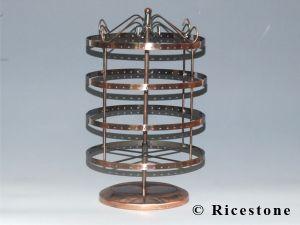 Pr sentoir portique laiton bijoux multiple boucle d - Presentoire boucle d oreille ...