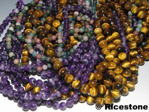 perles pierres semi precieuses